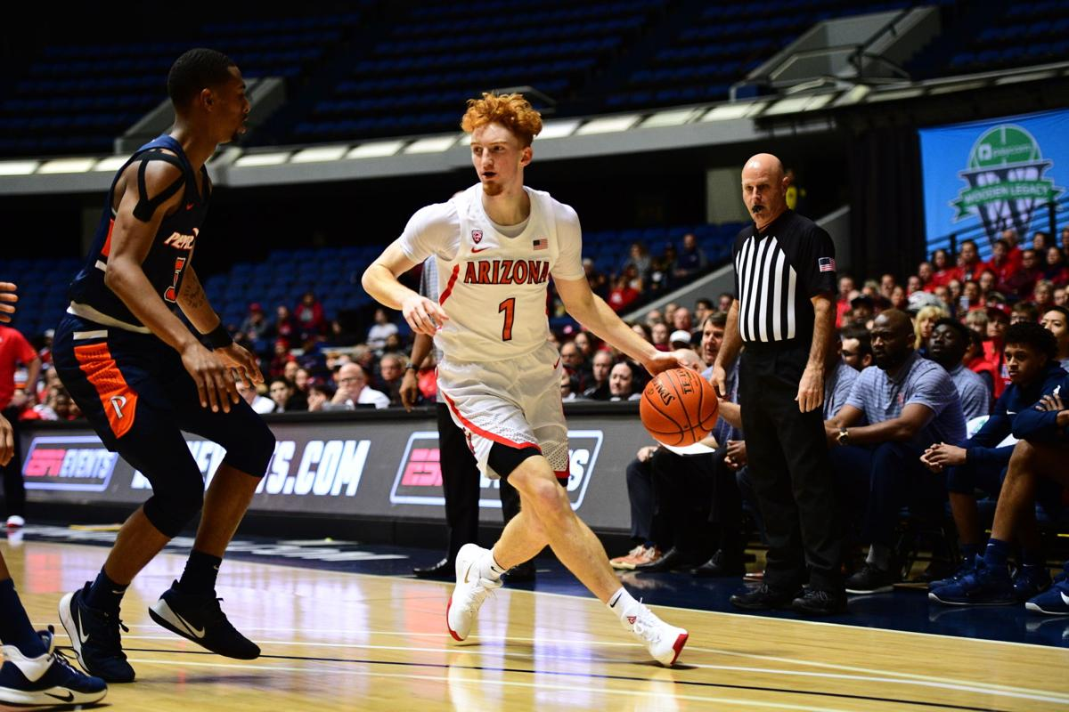 Nico Mannion at Wooden Legacy