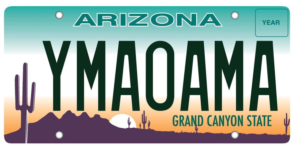 Arizona license plate