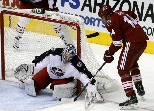 NHL: Coyotes drop 2nd straight at home
