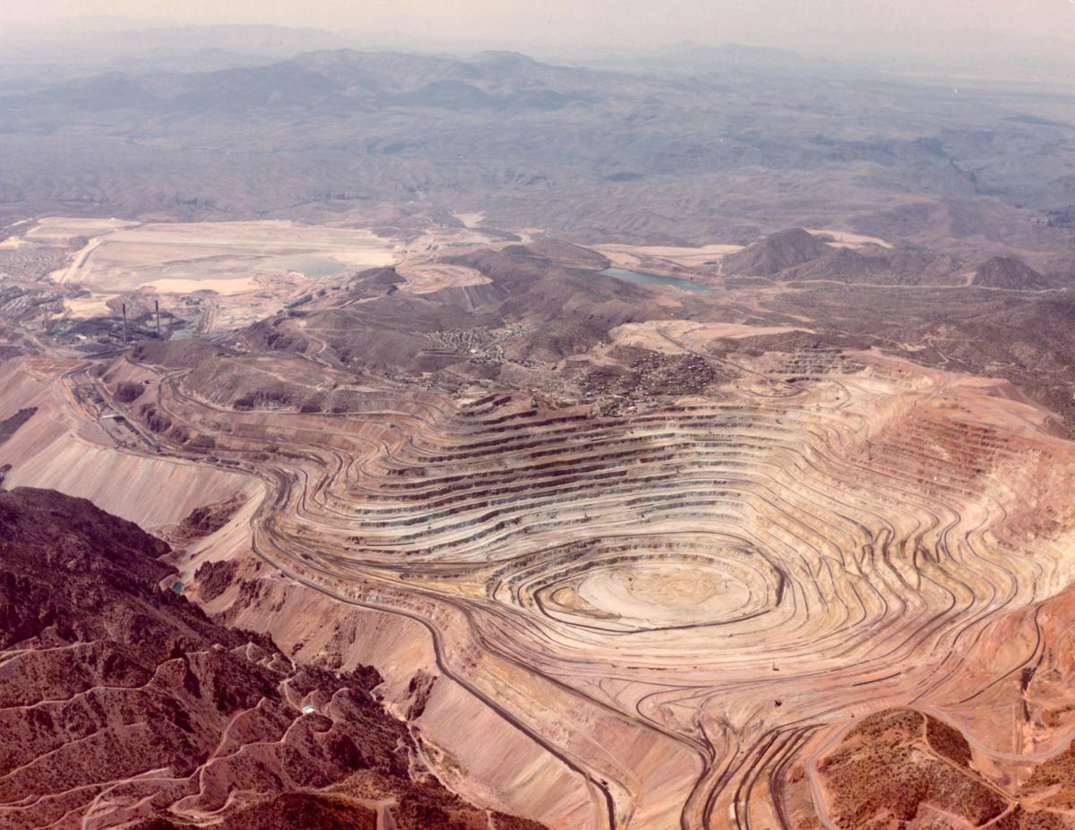 Morenci Open Pit Mine