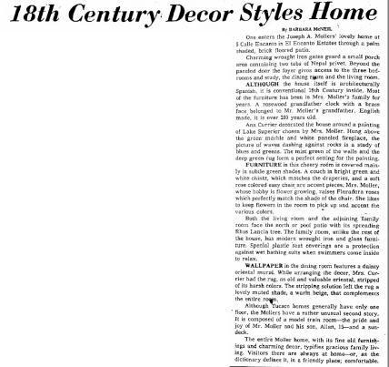 Tucson Citizen article Jan. 25, 1958