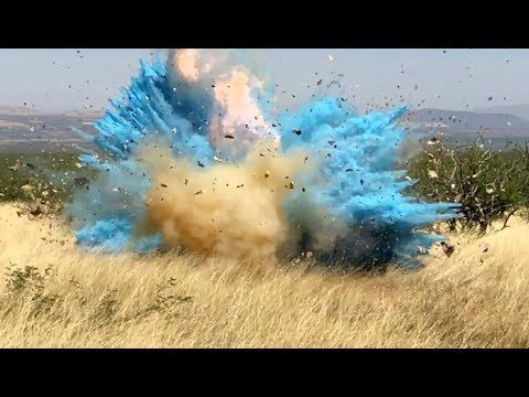 Watch: Border agent's gender-reveal explosion is the moment a massive  Arizona wildfire started