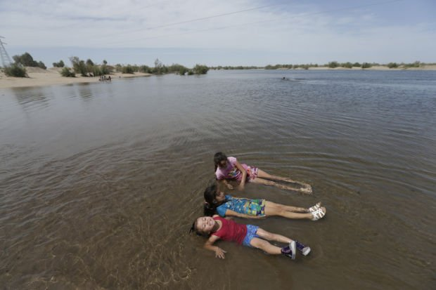 Now mostly barren, Colorado River Delta once teemed with ...