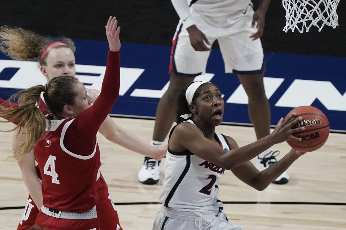 NCAA Arizona Indiana Basketball (LE)