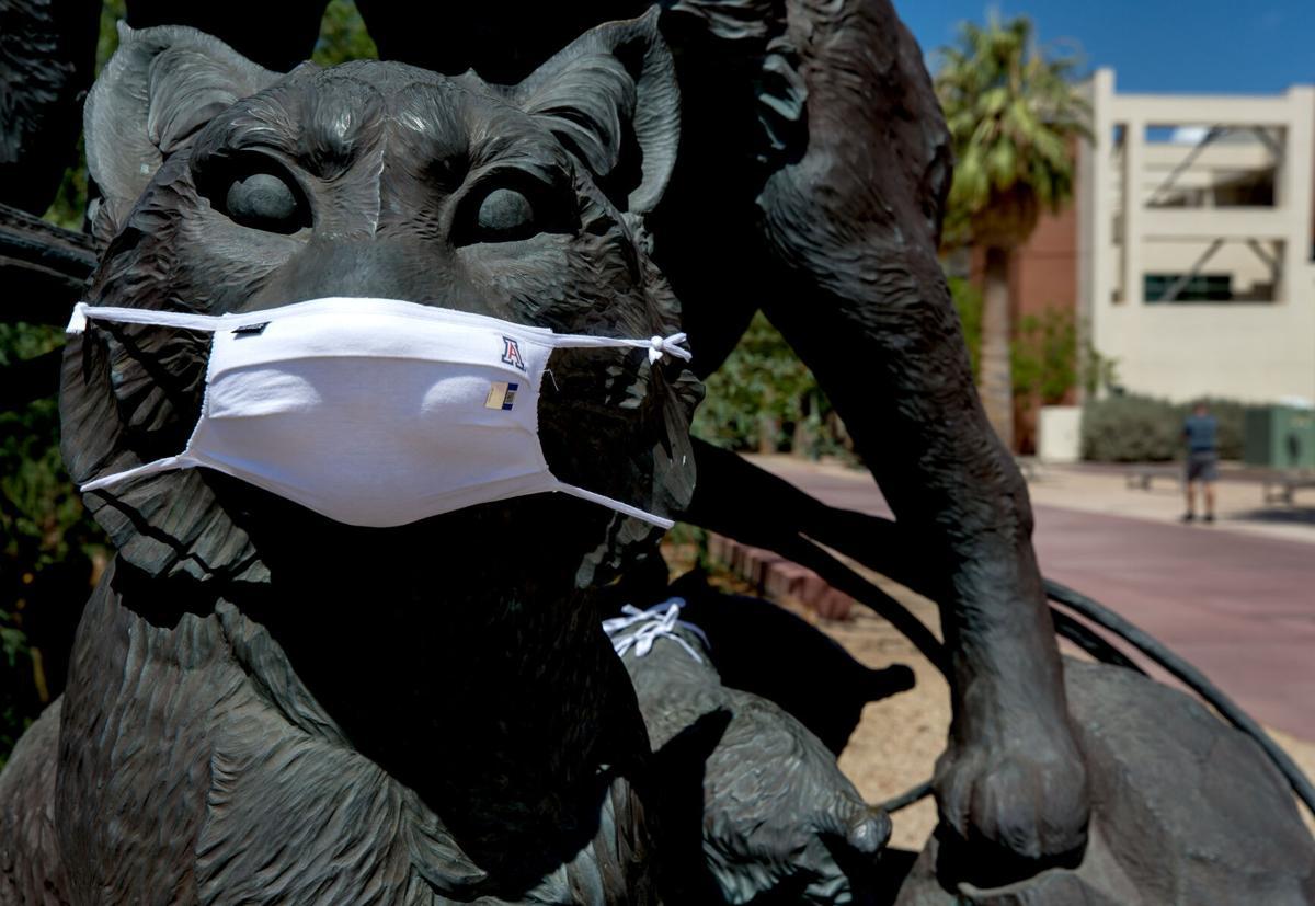 University of Arizona, face masks, COVID-19