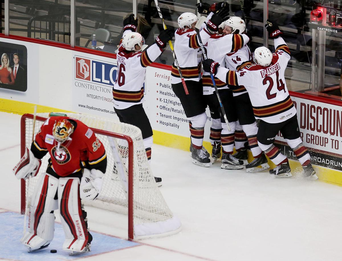 Tucson Roadrunners vs. Stockton Heat hockey