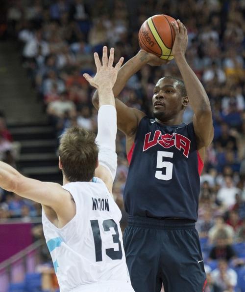 Men's basketball: USA 109, Argentina 83: Big second half puts US in final