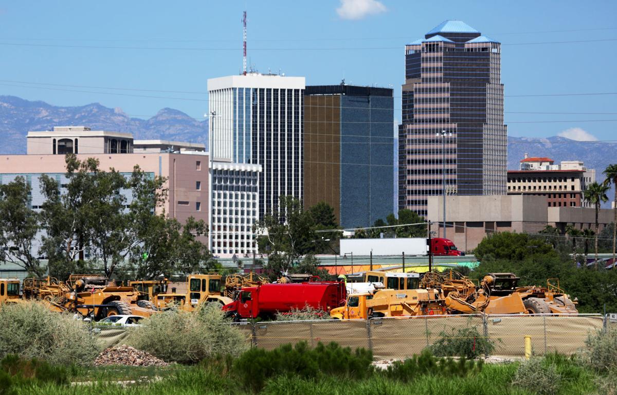 Caterpillar headquarters construction