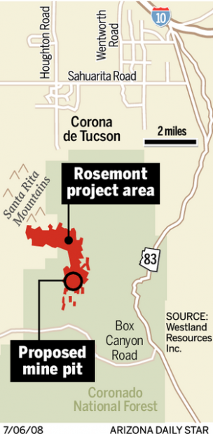 Rosemont mine may be hard to block