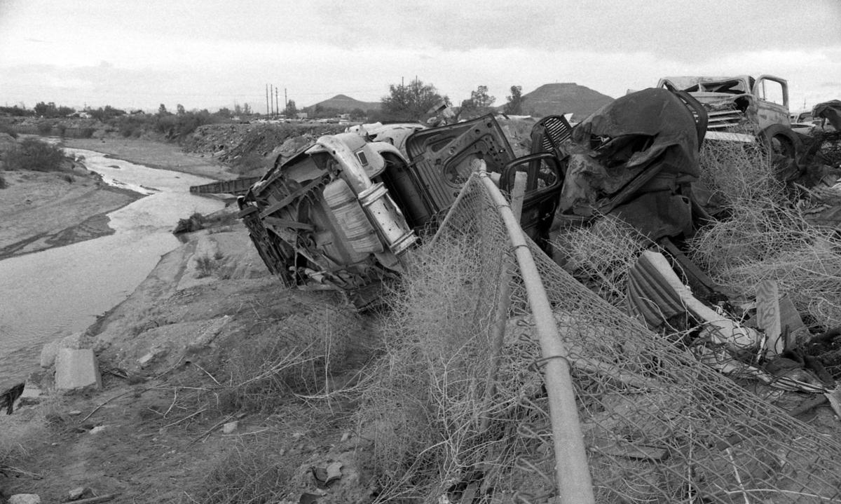 37 historic photos of the Santa Cruz River through Tucson