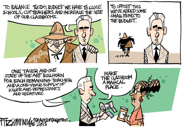 Daily Fitz Cartoon: TUSD