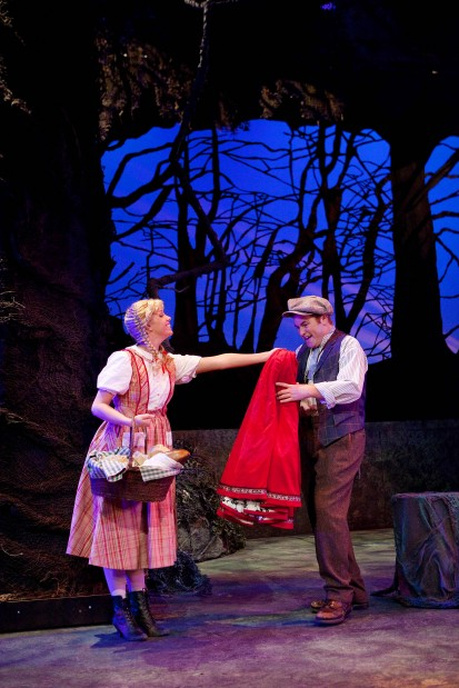 Soaring voices, comic timing put 'Woods' over the moon