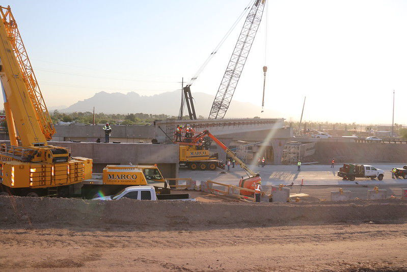 Tucson road work includes Ina Road paving, lane restrictions on I-10, sewer line repairs