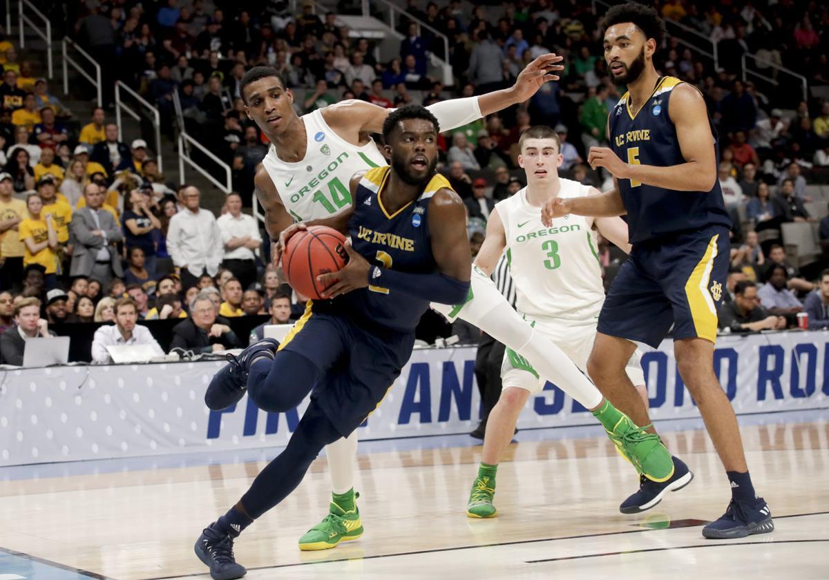 NCAA UC Irvine Oregon Basketball