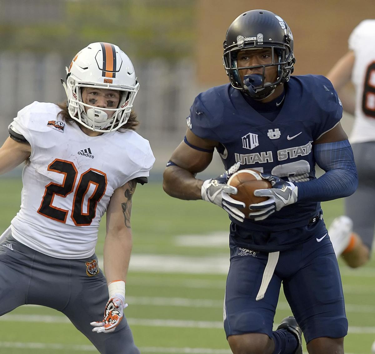 2a750d85 Utah State's Jalen Davis goes from unappreciated to All-American | Tucson  Sports | tucson.com