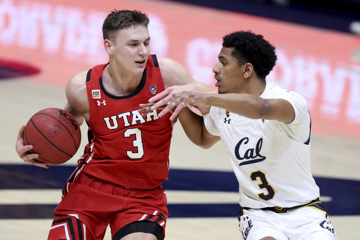Utah California Basketball