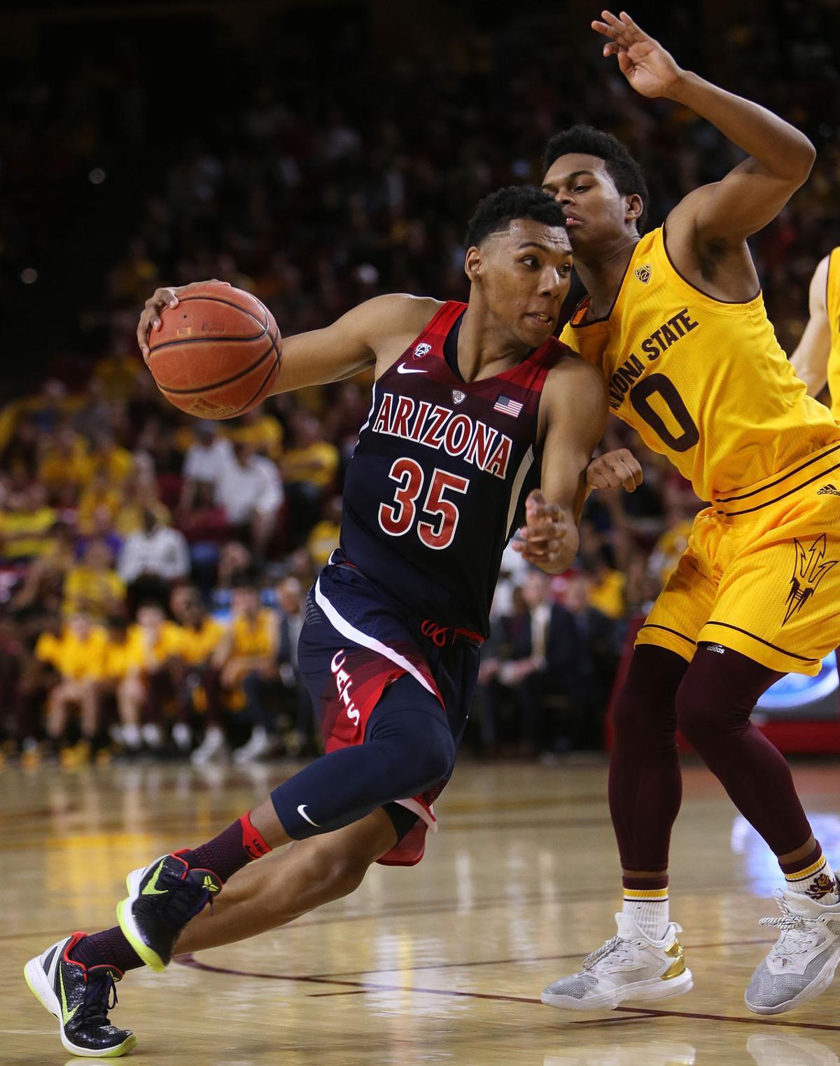 No. 7 Arizona Wildcats vs. Arizona State men's basketball
