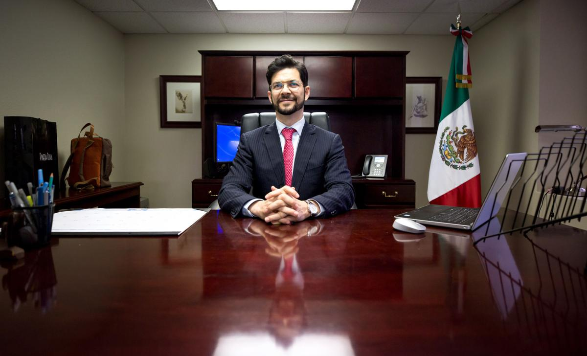 Rafael Barceló Durazo, nuevo cónsul de México en Tucsón