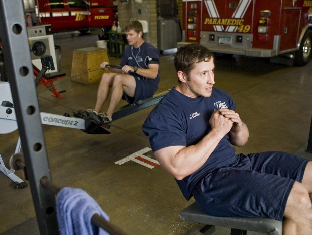 Exercise called leading factor in firefighter strains, sprains