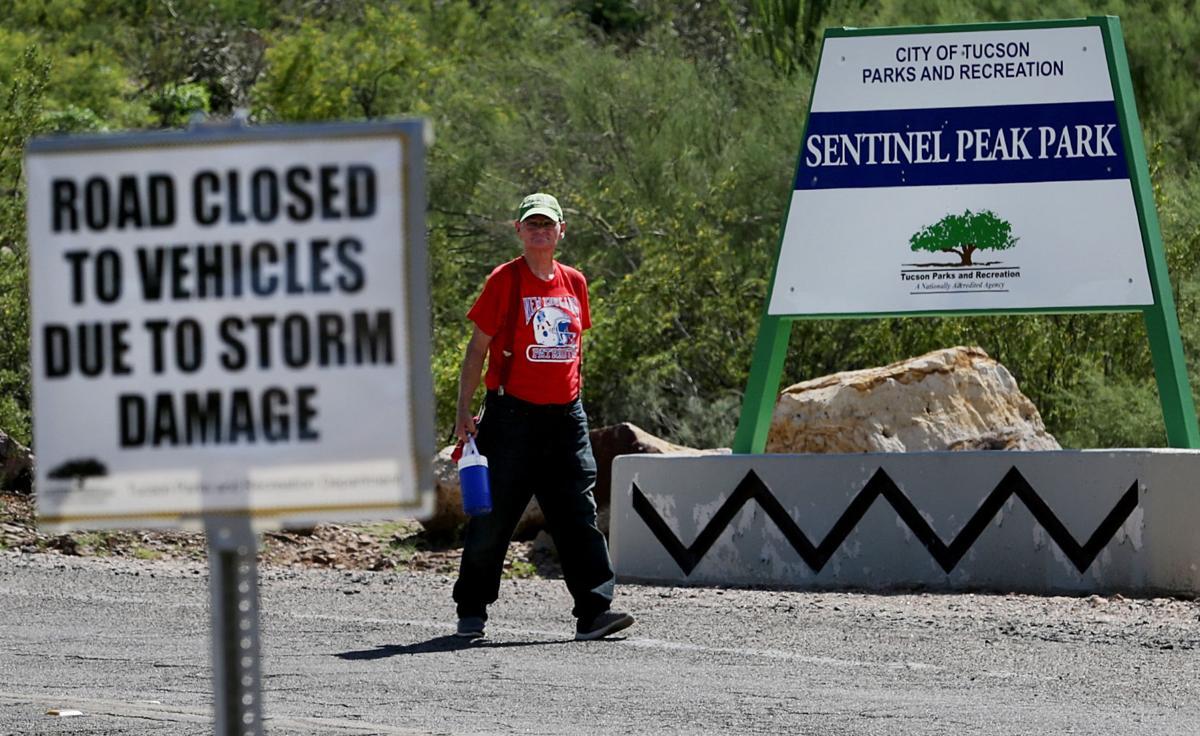"""A"" Mountain closure"