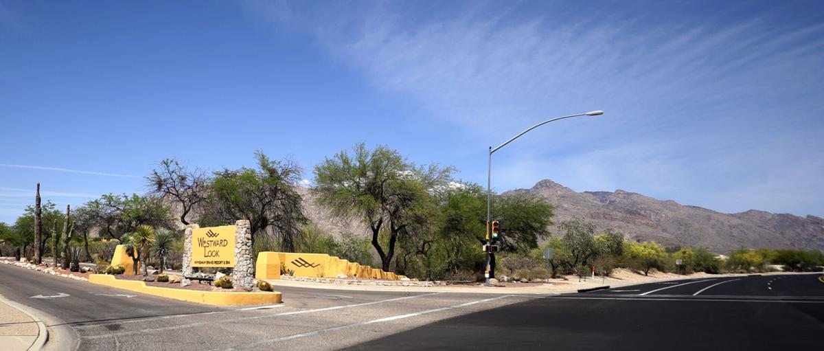 Westward Look Resort, entrance, Ina Road