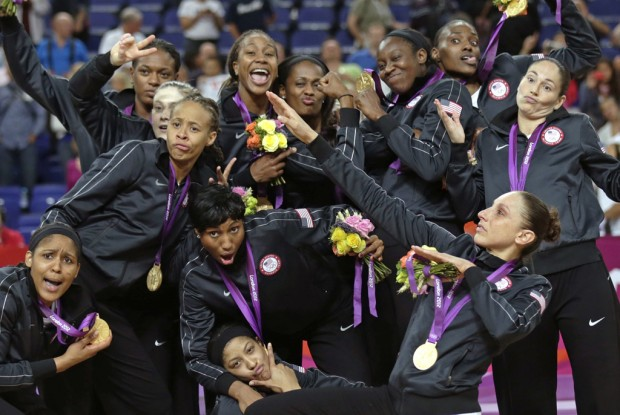 Women's basketball: Some ride: Taurasi & Co. win again