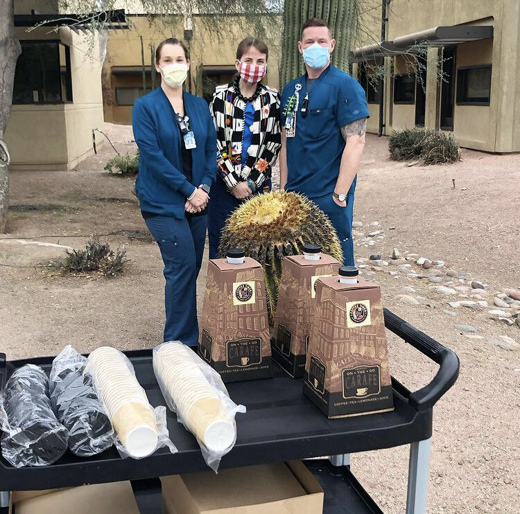 Tucson Covid Healthcare Workers Meal Fund 2021