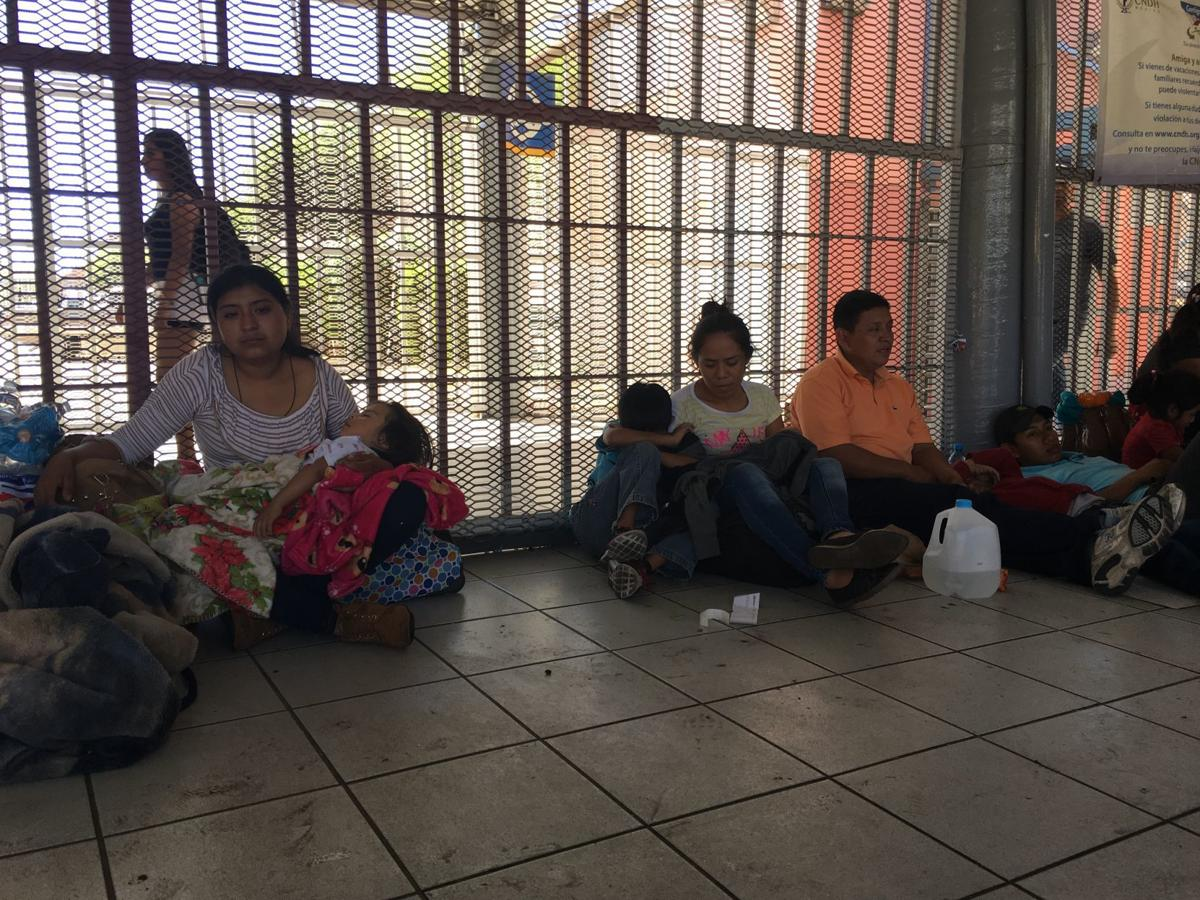 Asylum seekers in Nogales