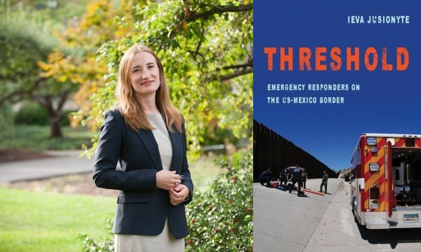 """""""Threshold: Emergency Responders on the US-Mexico Border"""" Author Event"""