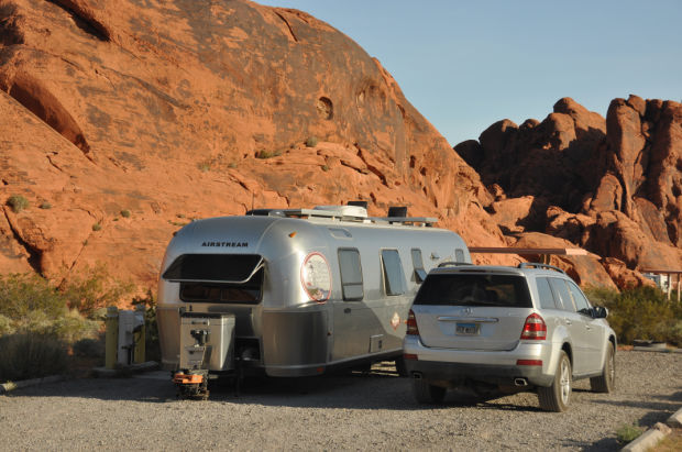 Rich Luhr's 2005 Airstream trailer