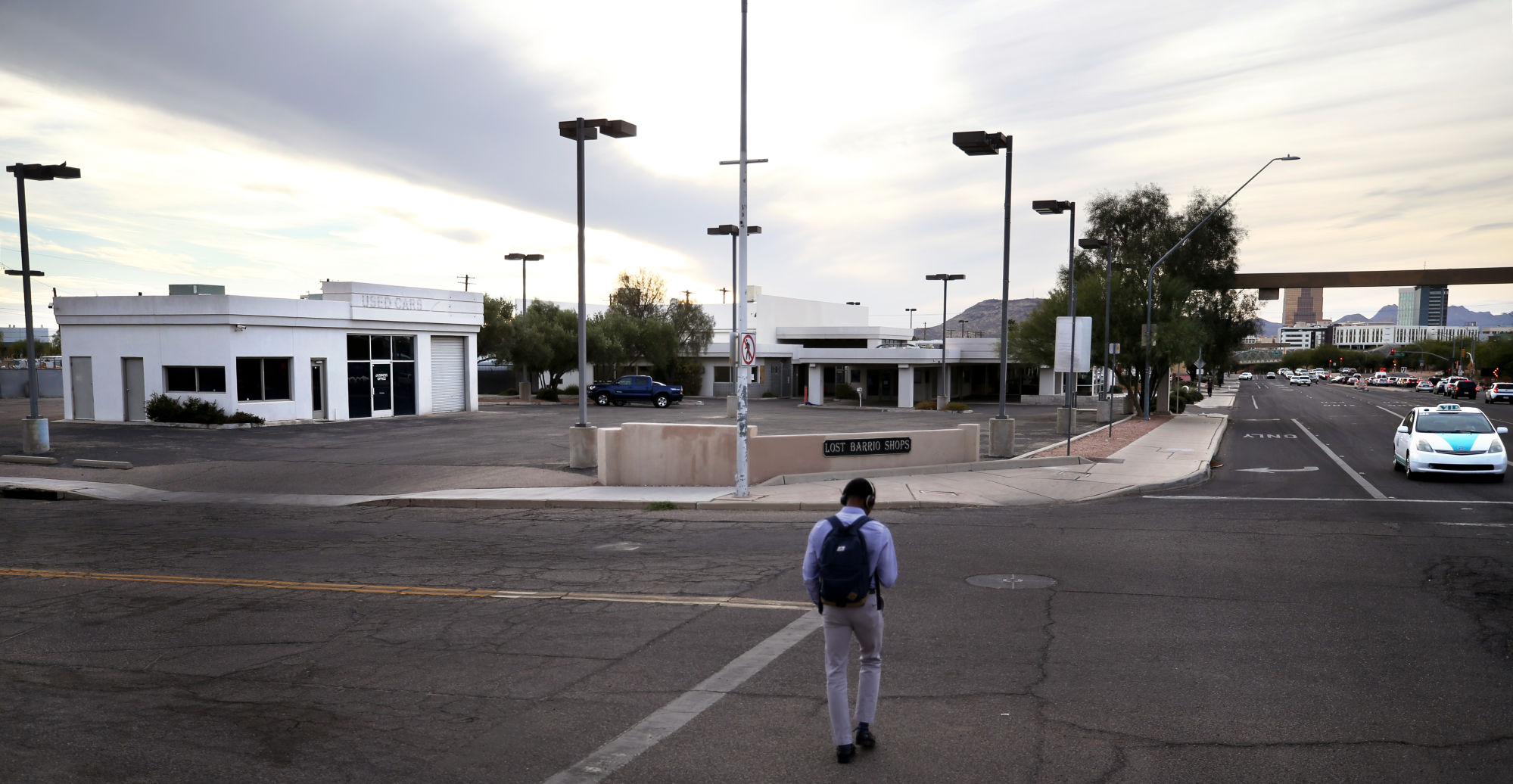 neighbors wary as tucson looks to sell old volvo