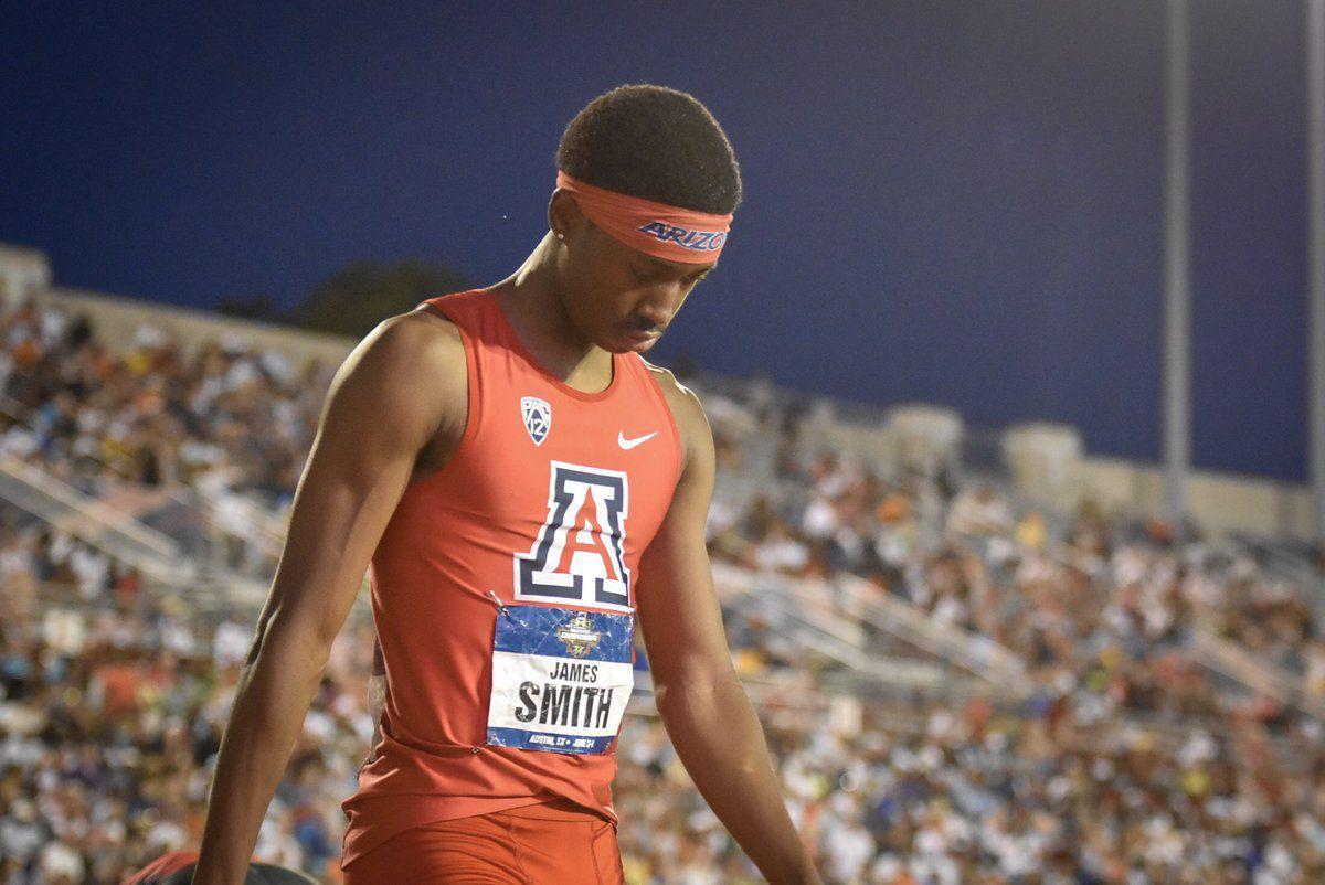 James Smith UA track
