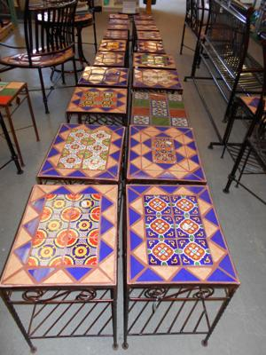 lawn art tile tables.JPG
