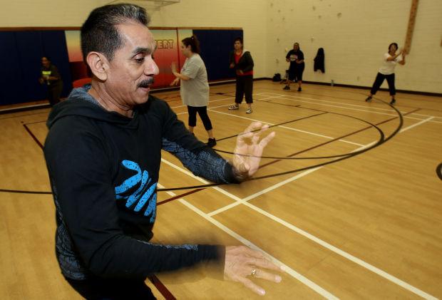 Zumba instructor Ernie Perez
