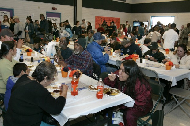 Donations sparse for turkey- day meals