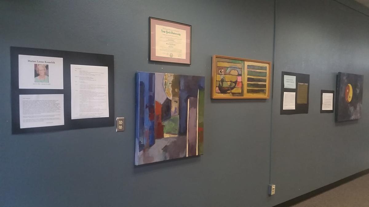 Marian Kozachik art exhibit