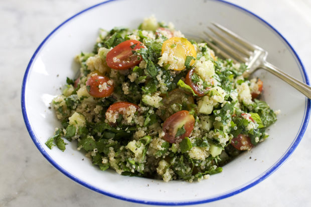 Tabbouleh gets makeover with quinoa in recipe