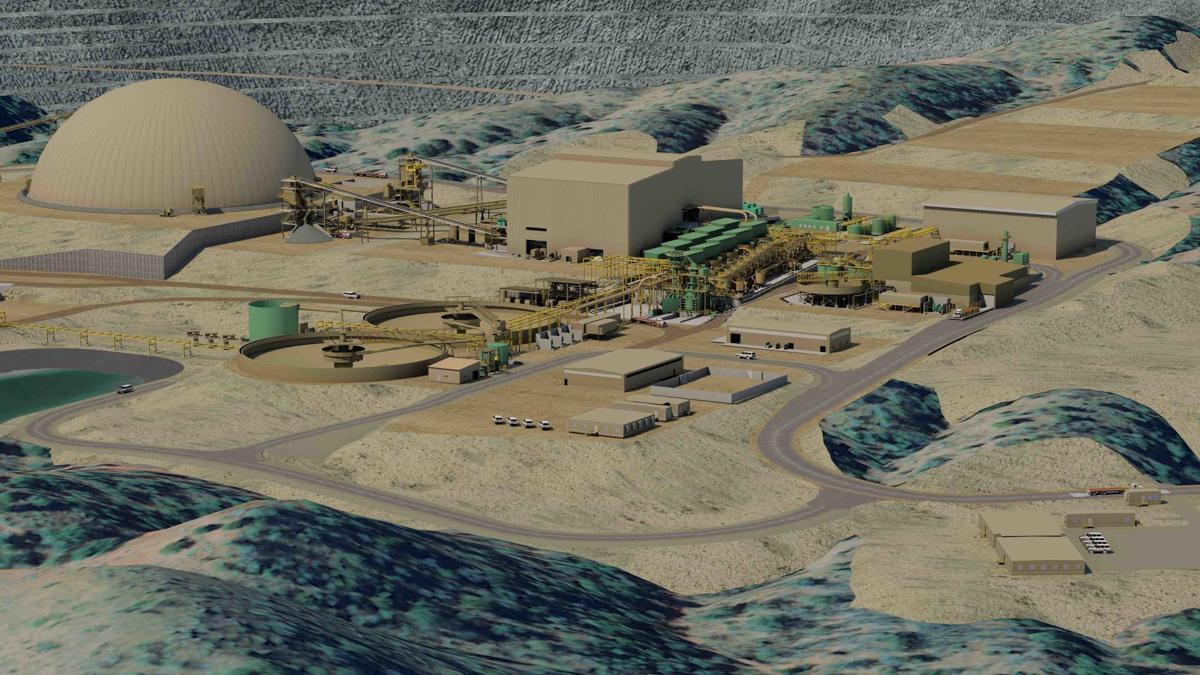 Rosemont Mine rendering