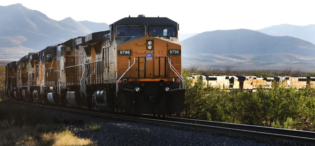 Idle Locomotives Await Business In Southern Arizona