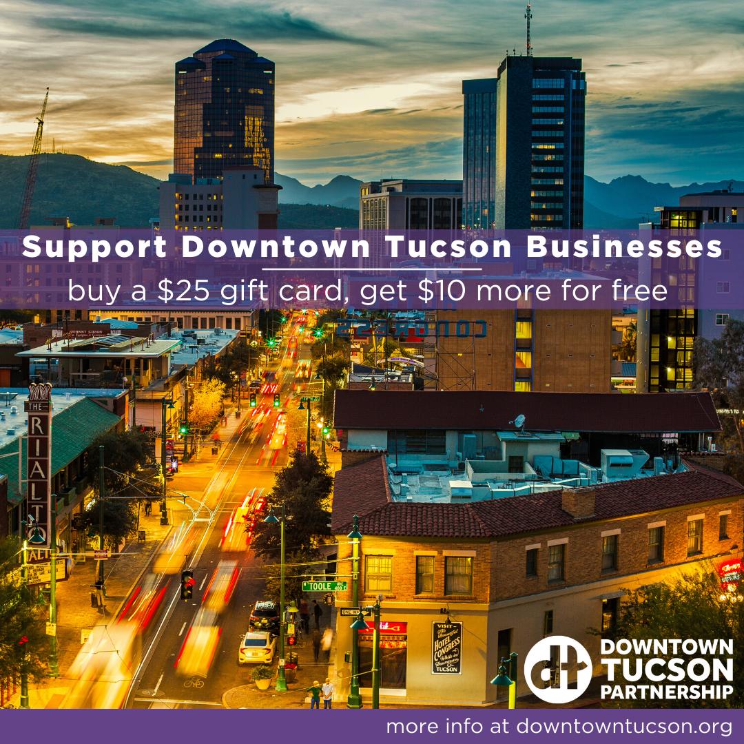 Downtown Tucson flier