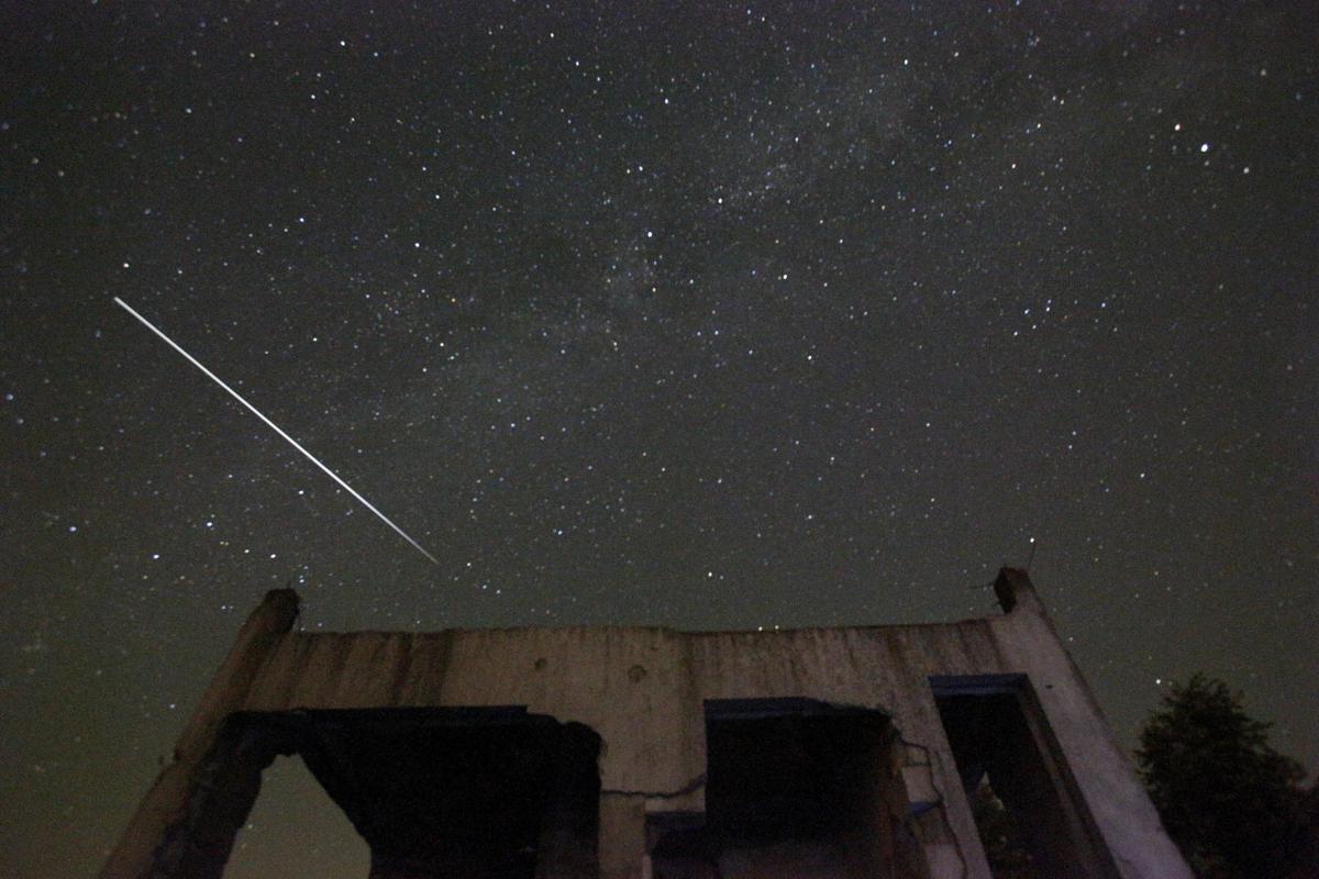Bosnia Perseid Meteor