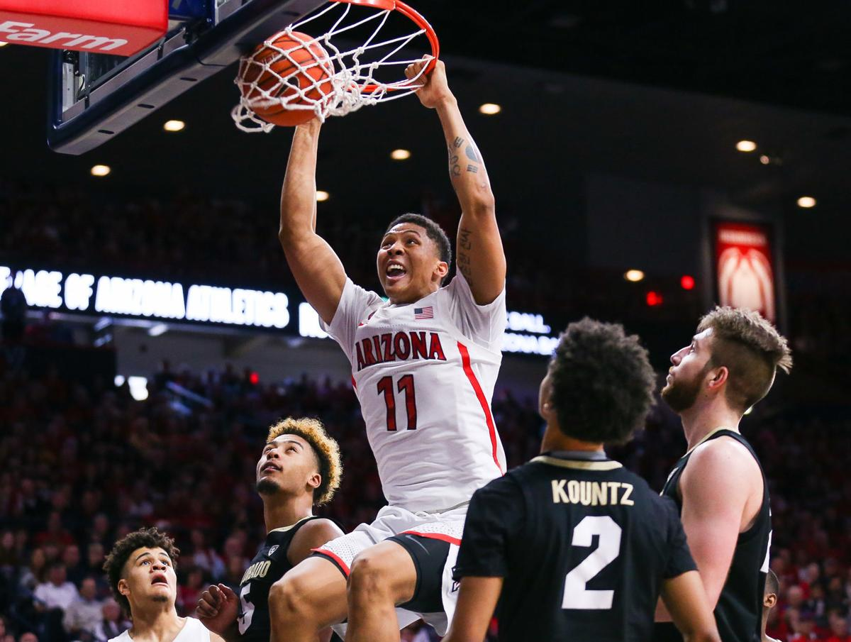 5e23a003a6367.image - Greg Hansen: Wildcats shoot way to stress-free win over No. 20 Colorado, and all now things seem possible | Greg Hansen