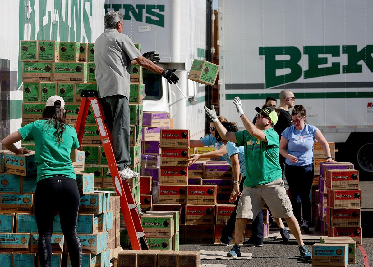 Girl Scout Cookie Drop
