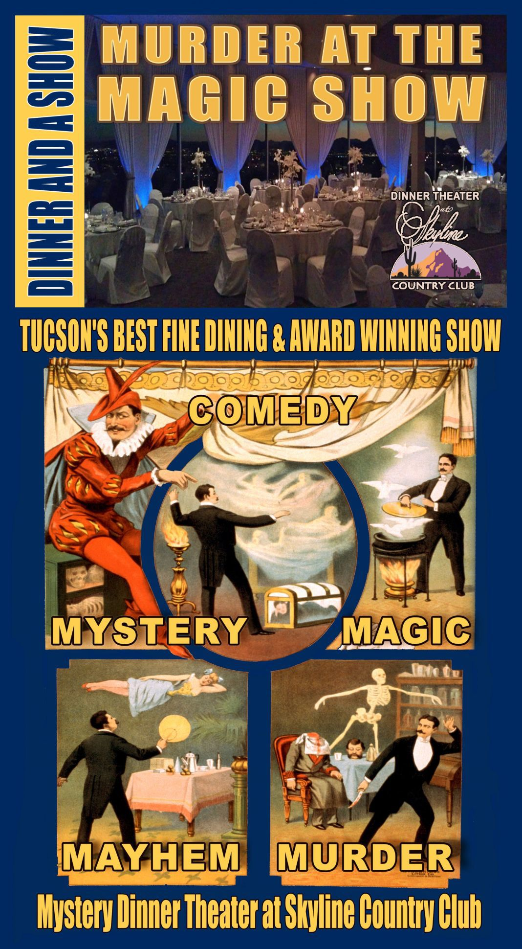 Mystery and Magic Dinner Theater Playhouse