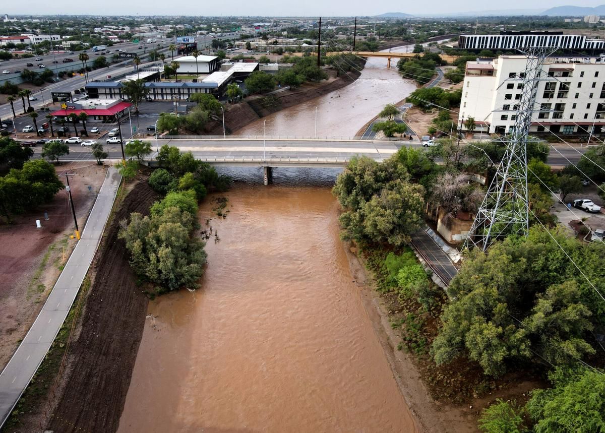 Monsoon, Santa Cruz River