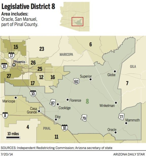 District 8 map