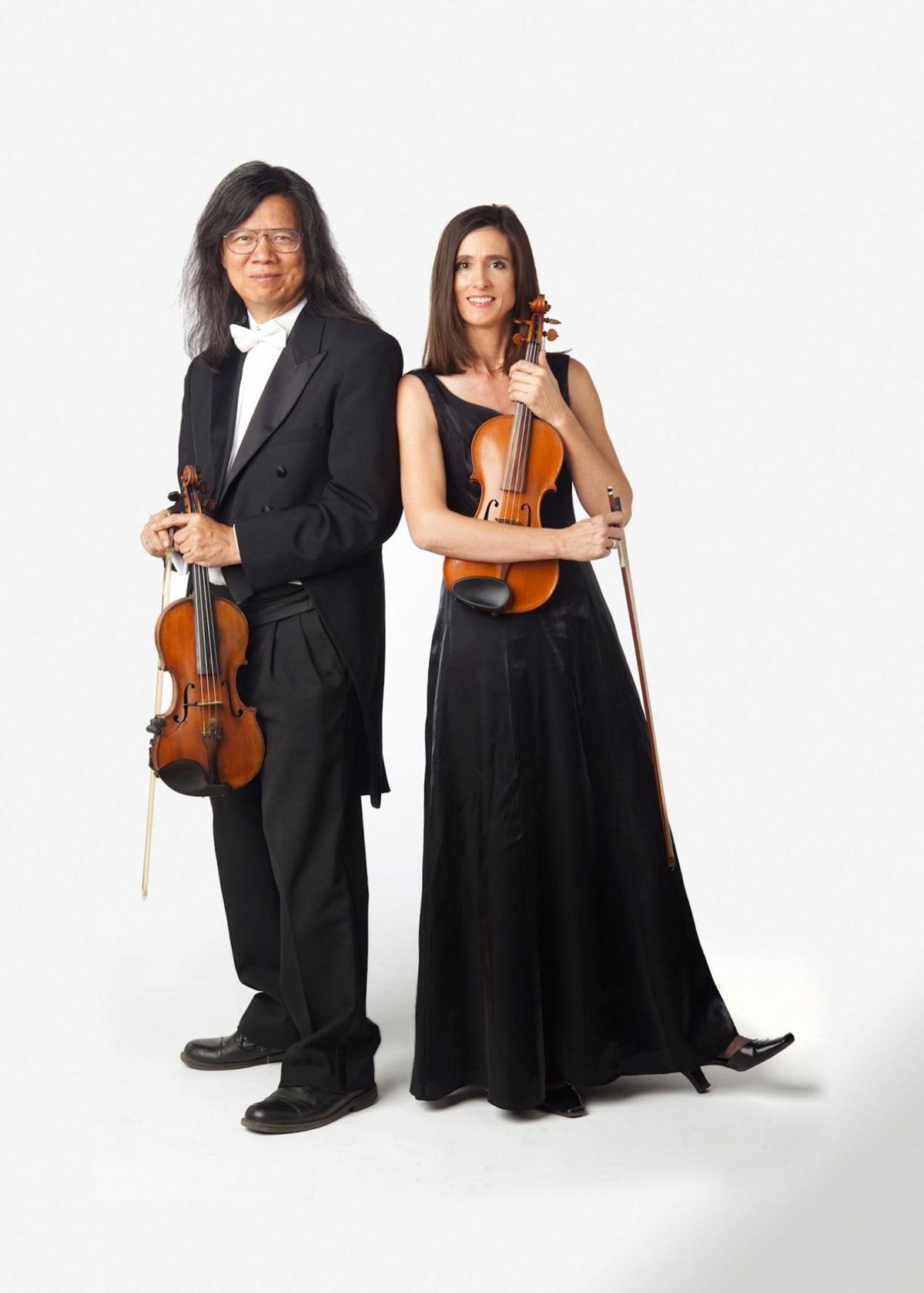 Michael and Melanie Fan: Violin Duo
