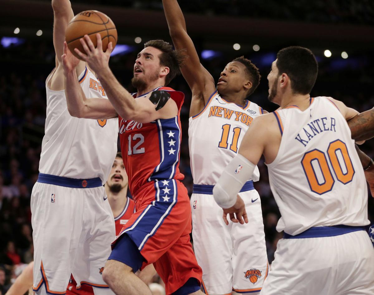 76ers Knicks Basketball