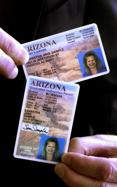 Arizona driver licenses