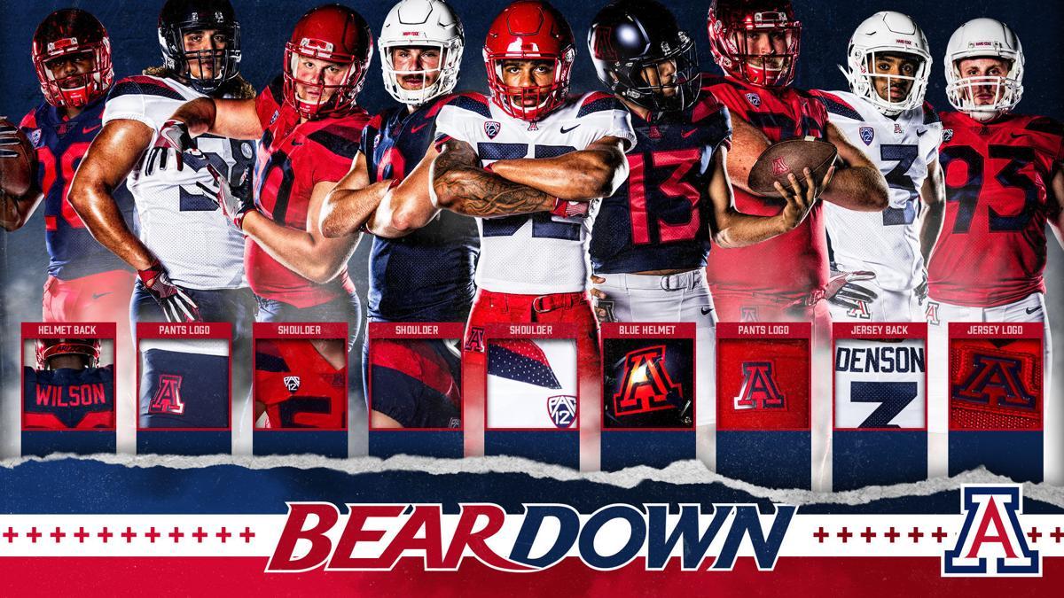 Arizona Wildcats football uniforms